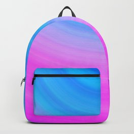 Pink & Blue Circles Backpack
