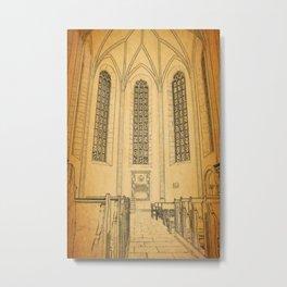Eastern European Church Alter Metal Print
