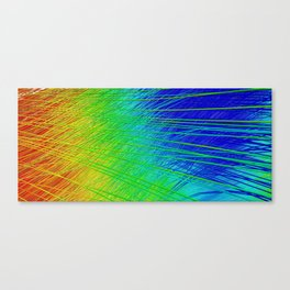 Highways in Color Canvas Print