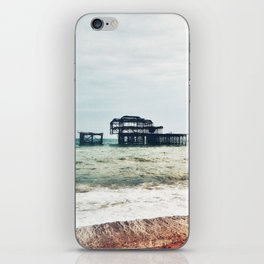 West Pier in Early April iPhone Skin