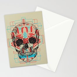 Skull Native Stationery Cards