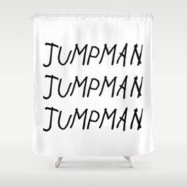 Jumpman Shower Curtain
