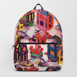 Flying houses Backpack