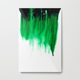 Emerald Bleed Metal Print