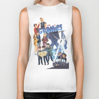 "the goonies Biker Tanks featuring The Goonies never say ""die"" ! by Collectif PinUp!"