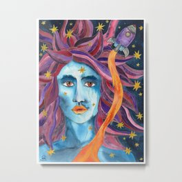 Starwoman Metal Print