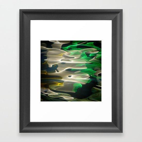 Water / H2O #34 Framed Art Print