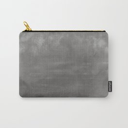 Burst of Color Pantone Pewter Abstract Watercolor Blend Carry-All Pouch