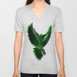 Green Eagle Unisex V-Neck