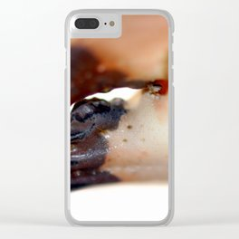 Crab Pincer Clear iPhone Case