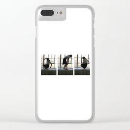 Sci-fi Clear iPhone Case