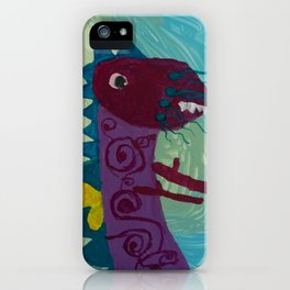 Dragon : Funny creature Series iPhone Case