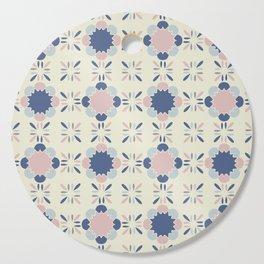 Pastel Tile Cutting Board