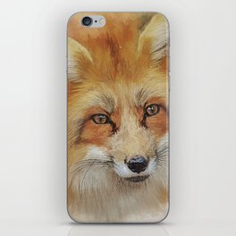 The Red Fox iPhone Skin