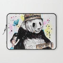 Panda Love Laptop Sleeve