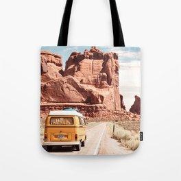 Desert Road Trip Tote Bag