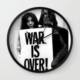 Darth Vader with Yoko Ono Wall Clock