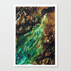 Emerald Vein  Canvas Print