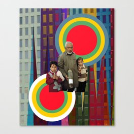 Target zone Canvas Print