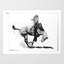 Rodeo II Art Print