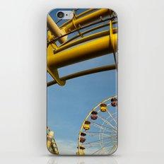 Santa Monica pier 3 iPhone & iPod Skin