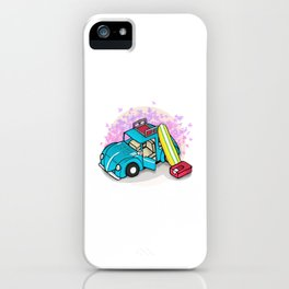 summer holiday iPhone Case