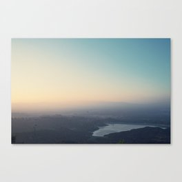 Sunset Reservoir Canvas Print