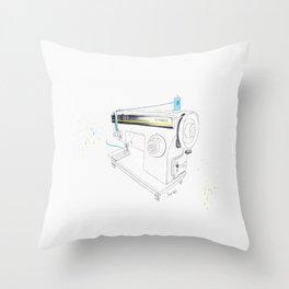Vintage Singer 964 Sewing Machine Throw Pillow