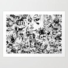 666 Art Print