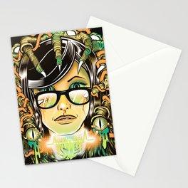 Brain Leech Stationery Cards