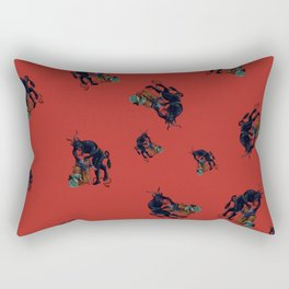 The Krampus - an Austrian Legendary Figure Rectangular Pillow