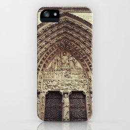 Notre-Dame de Paris iPhone Case