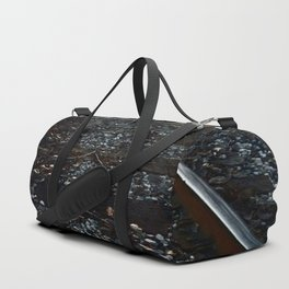 Get Off The Tracks Duffle Bag