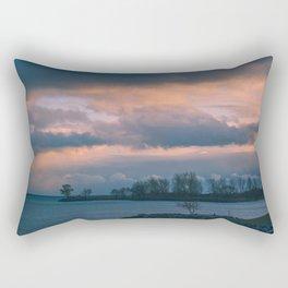 Cloud Storm Rectangular Pillow