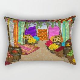 At The Bazaar Rectangular Pillow