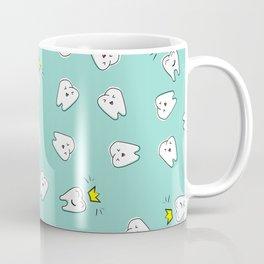 Teeth in crown Coffee Mug