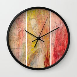 The Unborn, The Living, The Dead Wall Clock