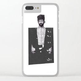 SHAH GRUFF Clear iPhone Case