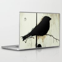totes Laptop & iPad Skins featuring Early Bird - JUSTART © by JUSTART