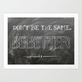 Inspirational Success Quote Art Print