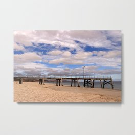 The Pier at Normanville Metal Print
