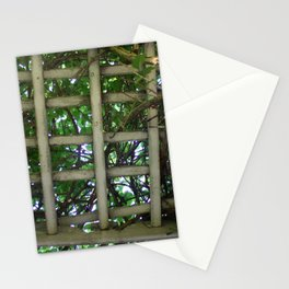 Into the garden Stationery Cards