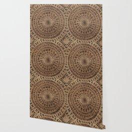 Elder Futhark Circular Composition Wallpaper