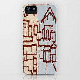Judah Houses iPhone Case