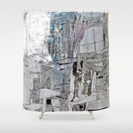 Folder/Book Shower Curtain