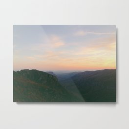 Linville Gorge Sunset Metal Print