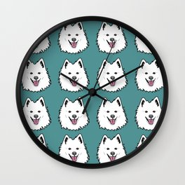 American Eskimo Wall Clock