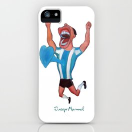 Gol de Argentina iPhone Case