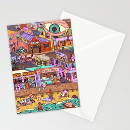 Fried n' Cheesy Stationery Cards