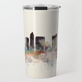 san diego california skyline Travel Mug